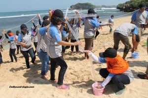 outbound-di-pantai-jogja